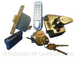 Home security locks in cardiff