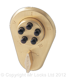 Cardiff Locksmith Mechanical Codelock 5
