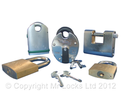 Cardiff Locksmith Padlocks